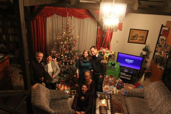 Karácsony - Kaukázusi jegenyefenyő
